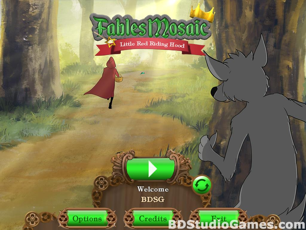 Fables Mosaic: Little Red Riding Hood Free Download Screenshots 01