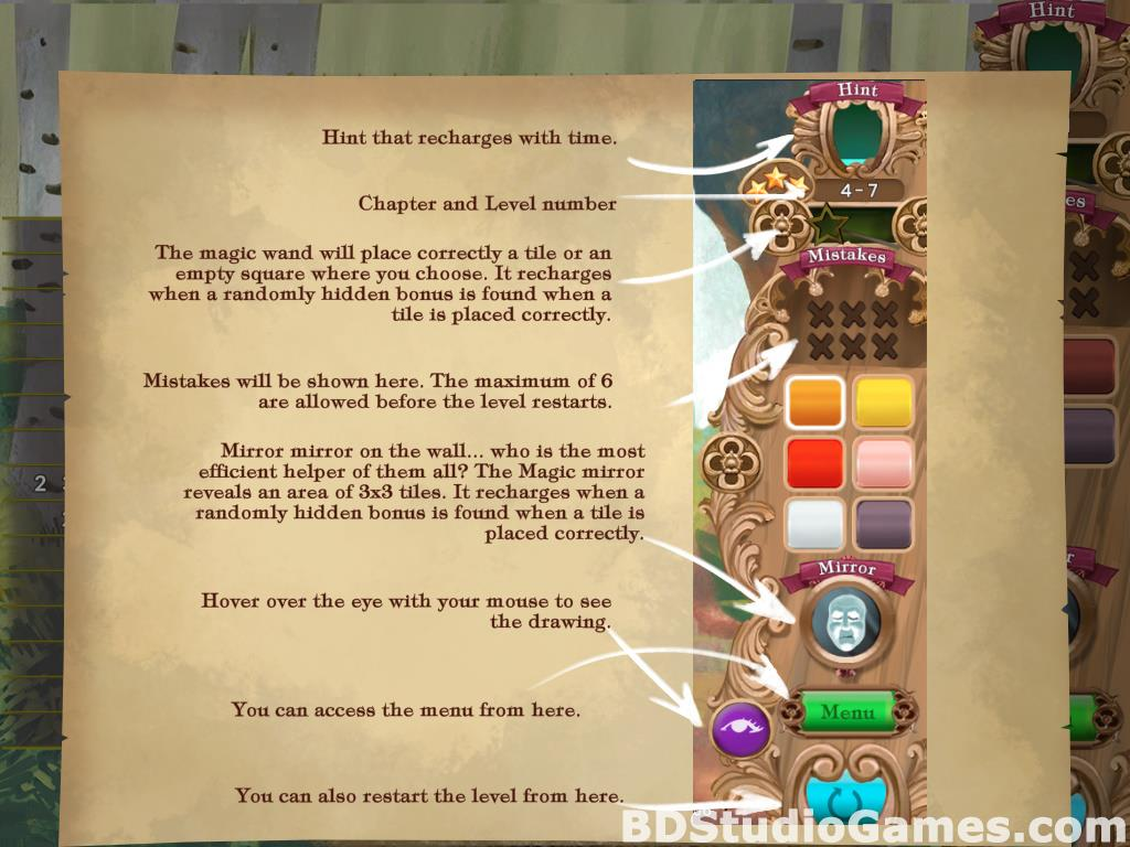 Fables Mosaic: Little Red Riding Hood Free Download Screenshots 09