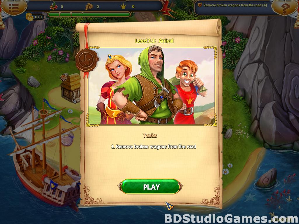 Fables of the Kingdom III Collector's Edition Free Download Screenshots 09