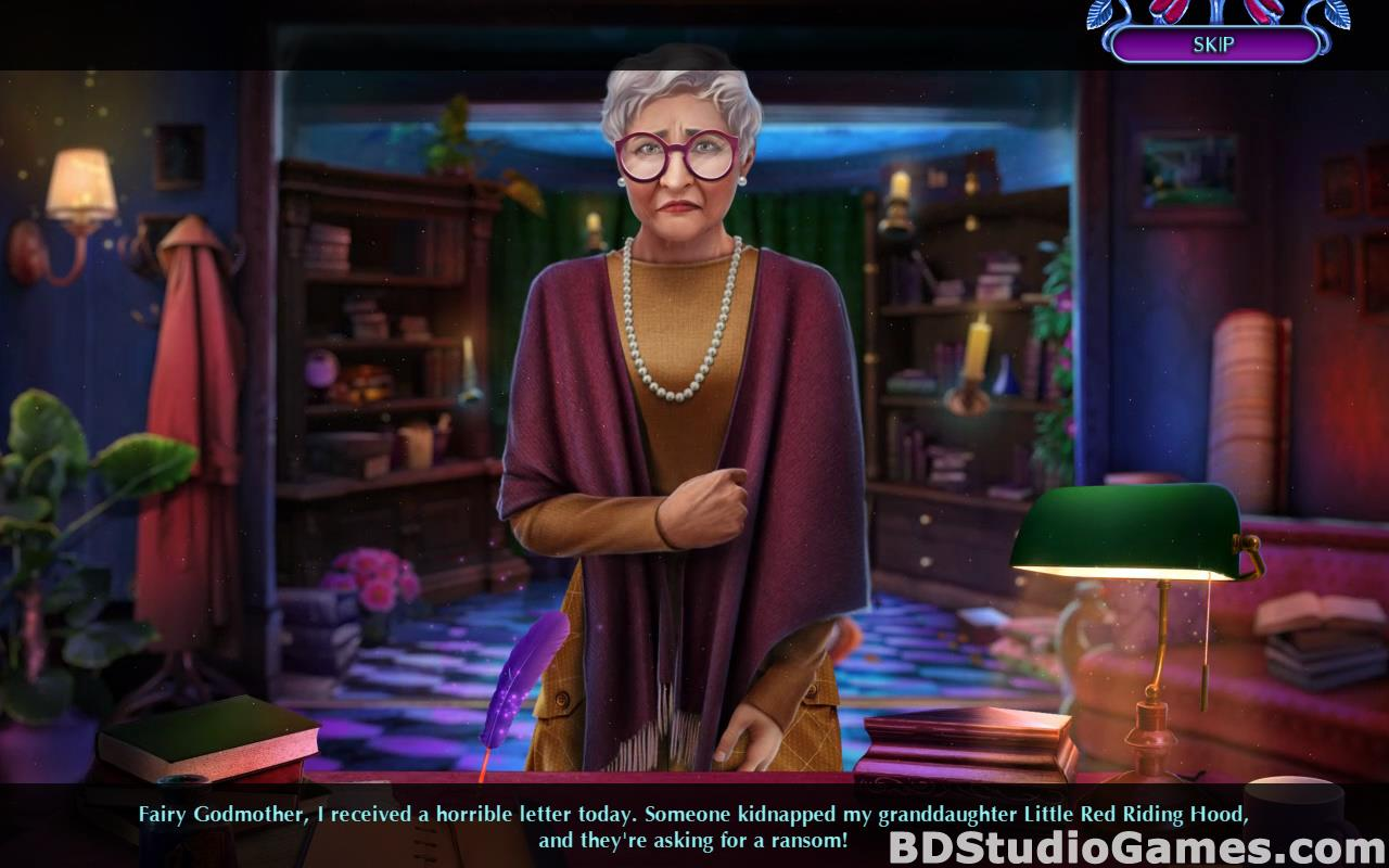 Fairy Godmother Stories: Little Red Riding Hood Free Download Screenshots 05