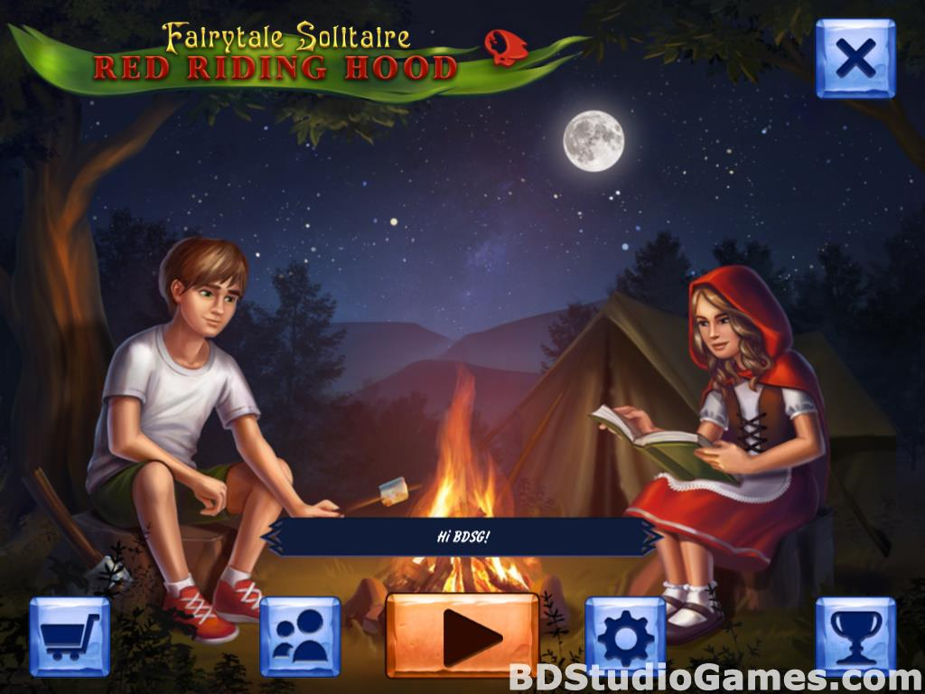 Fairytale Solitaire: Red Riding Hood Free Download Screenshots 01