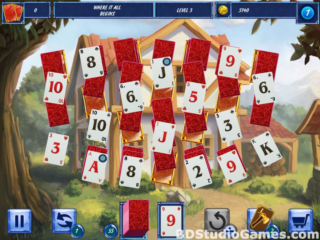 Fairytale Solitaire: Red Riding Hood Free Download Screenshots 10
