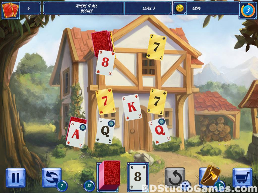 Fairytale Solitaire: Red Riding Hood Free Download Screenshots 11