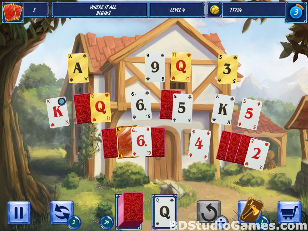 Fairytale Solitaire: Red Riding Hood Free Download Screenshots 12