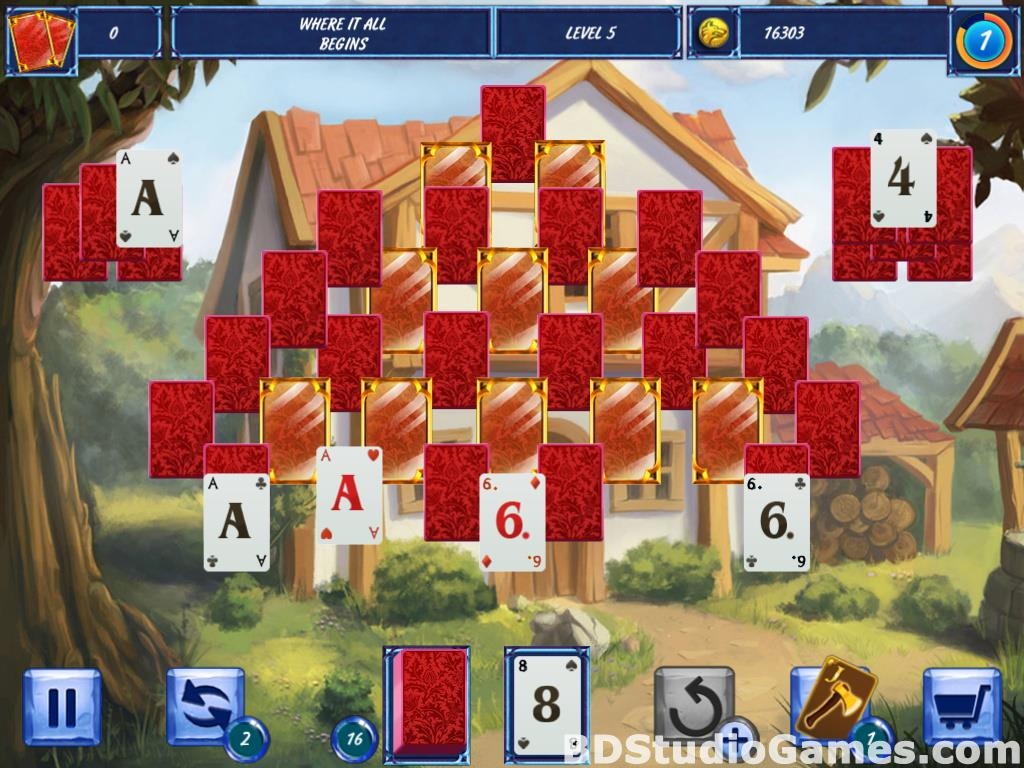 Fairytale Solitaire: Red Riding Hood Free Download Screenshots 13