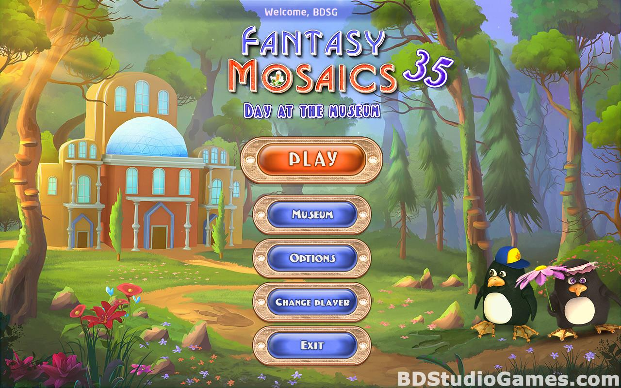 Fantasy Mosaics 35: Day at the Museum Free Download Screenshots 01
