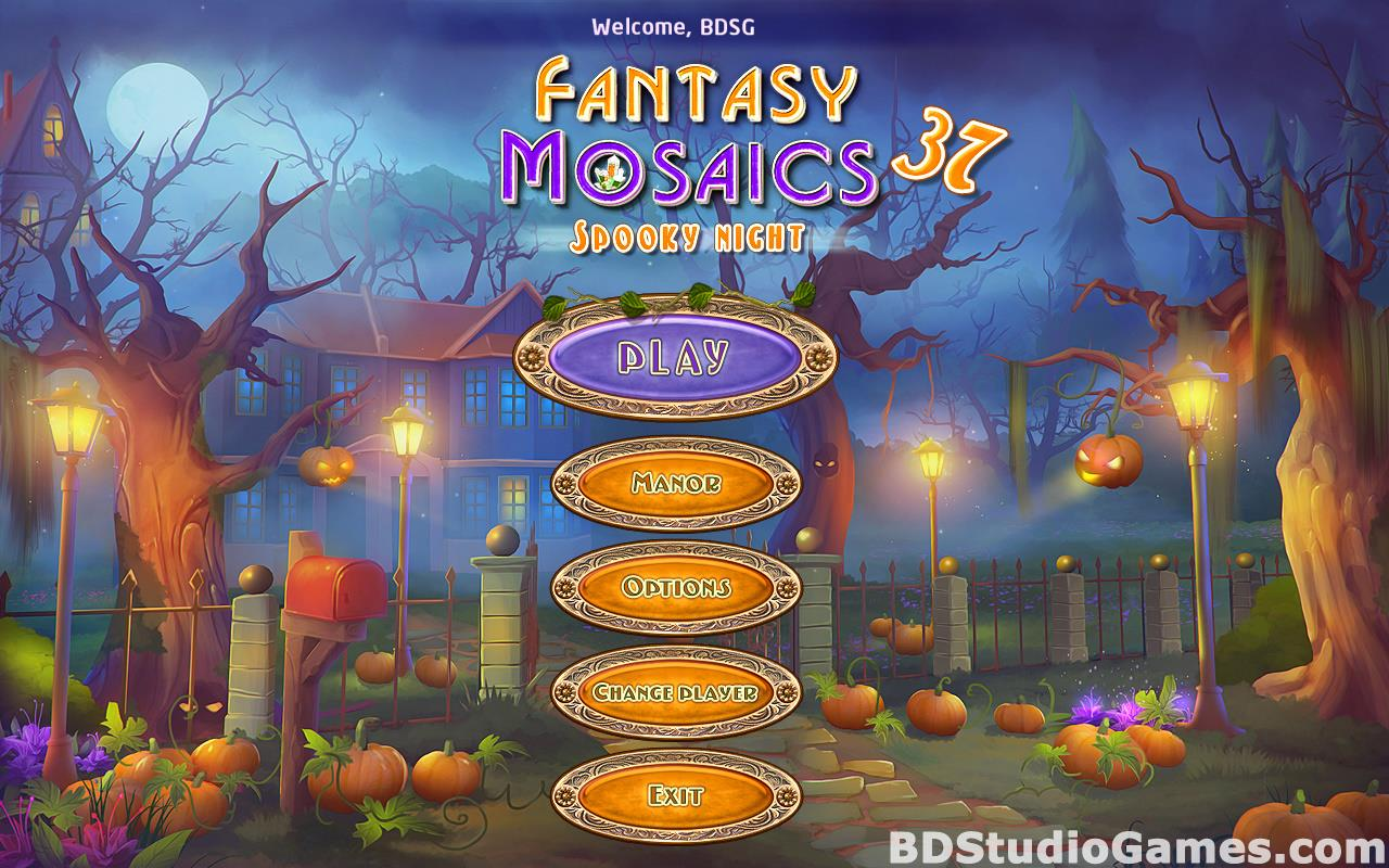 Fantasy Mosaics 37: Spooky Night Free Download Screenshots 01