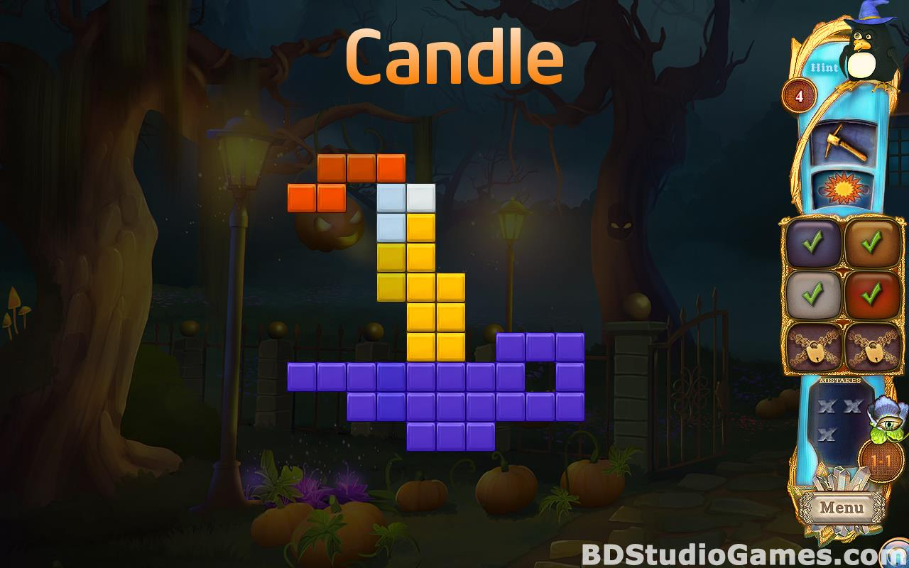 Fantasy Mosaics 37: Spooky Night Free Download Screenshots 11