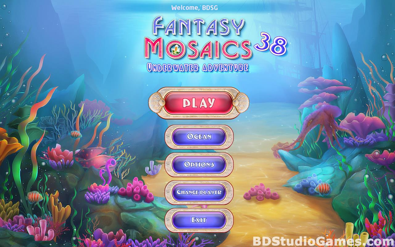 Fantasy Mosaics 38: Underwater Adventure Free Download Screenshots 01