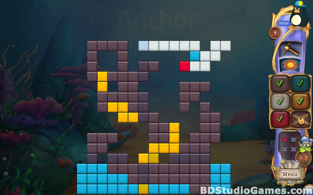Fantasy Mosaics 38: Underwater Adventure Free Download Screenshots 18