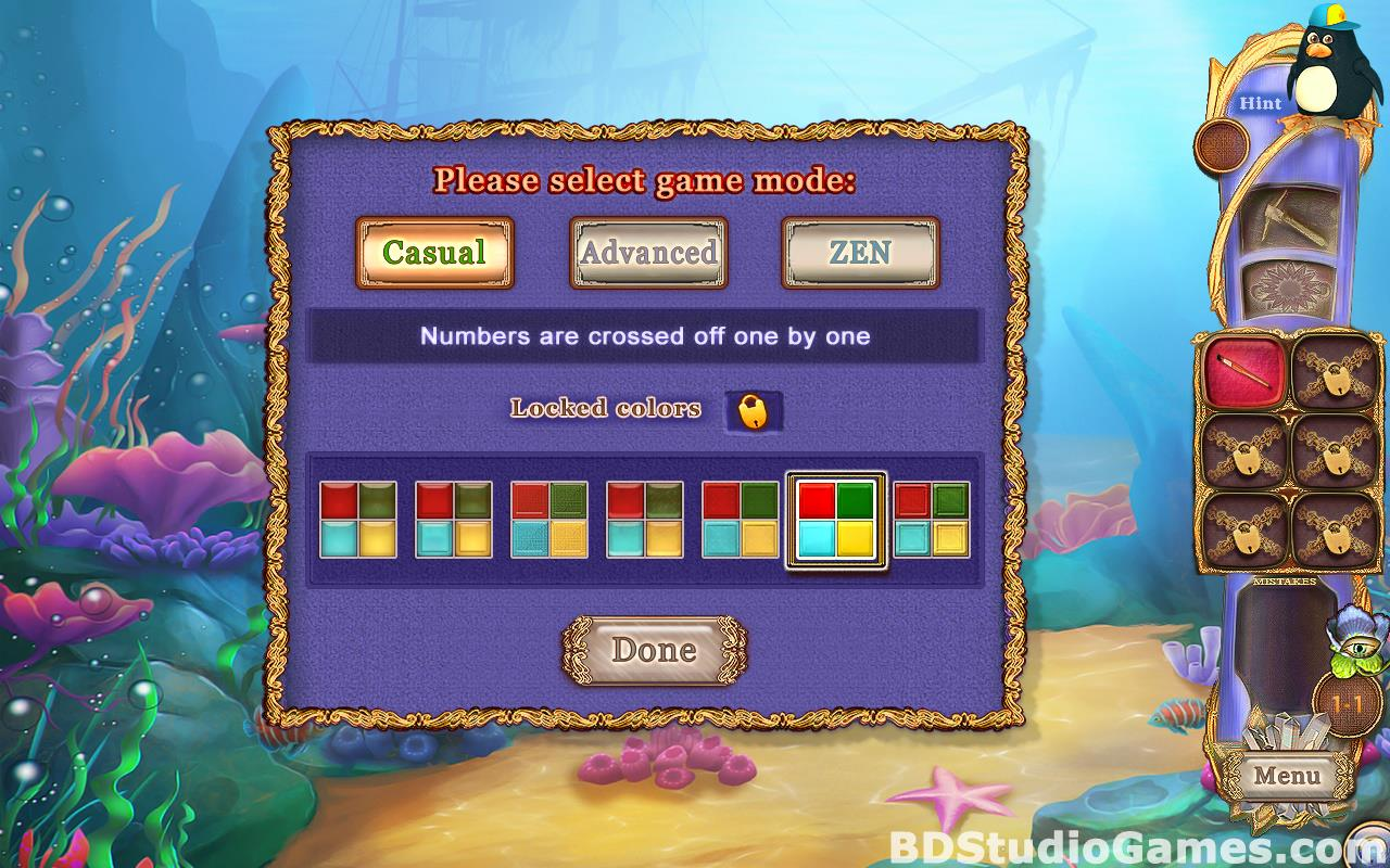 Fantasy Mosaics 38: Underwater Adventure Free Download Screenshots 07