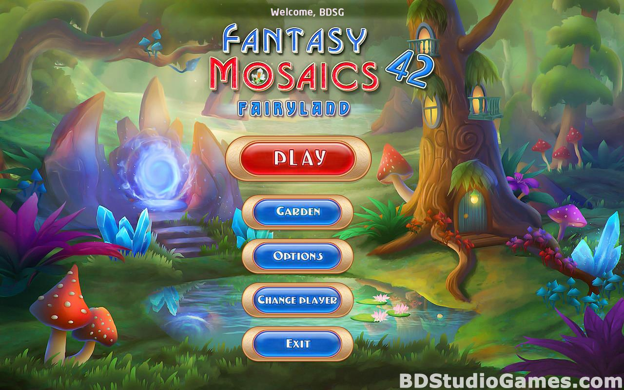 Fantasy Mosaics 42: Fairyland Free Download Screenshots 01