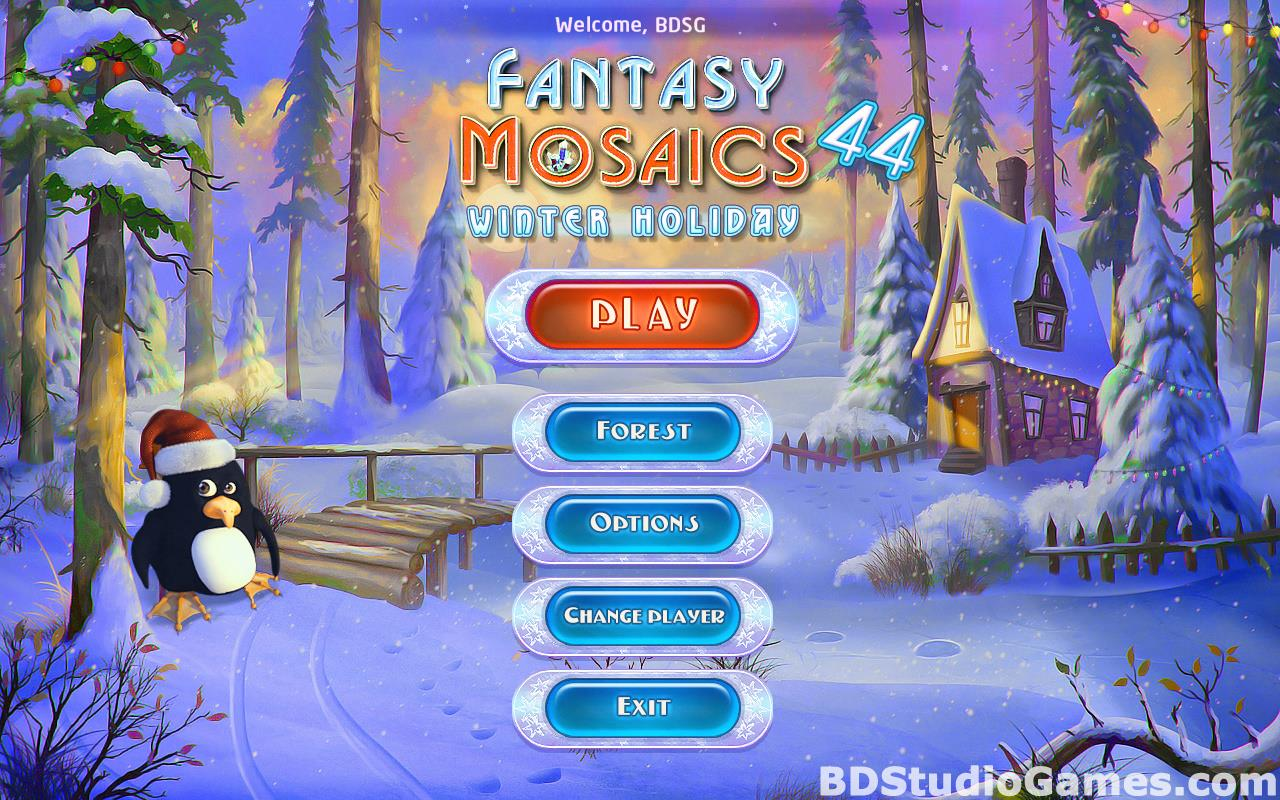 Fantasy Mosaics 44: Winter Holiday Free Download Screenshots 01