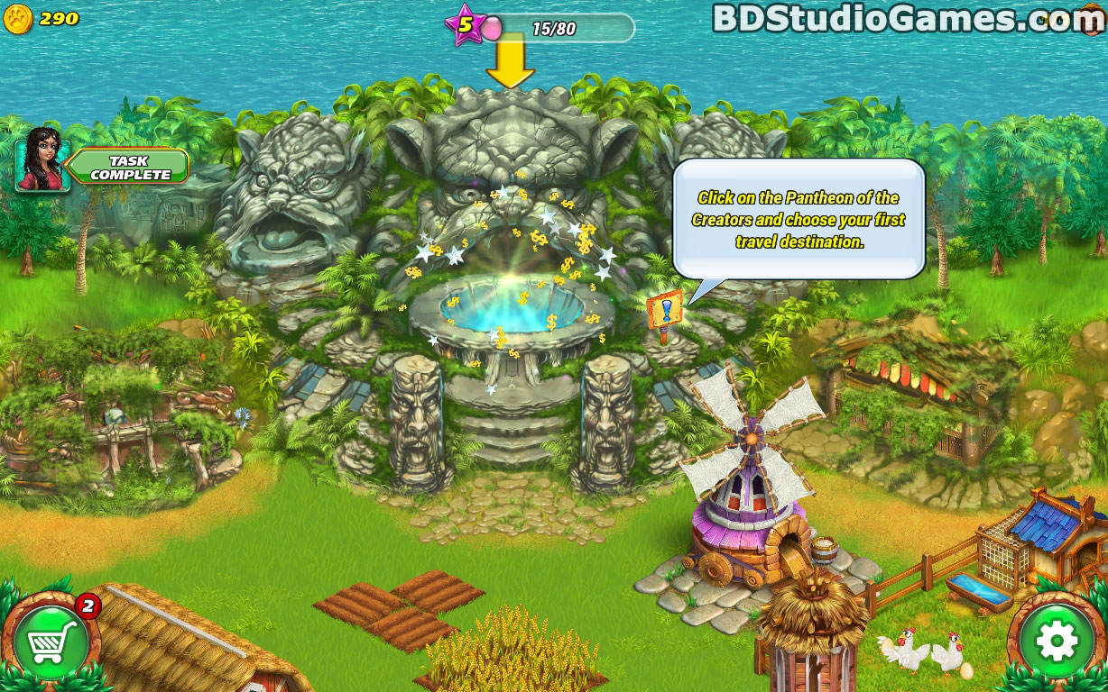 Farm Tribe: Dragon Island Free Download Screenshots 11