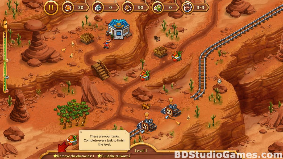 Golden Rails: Tales of the Wild West Free Download Screenshots 12