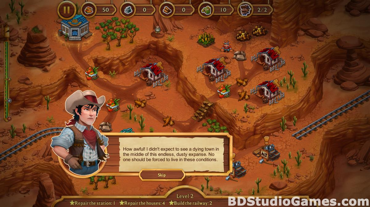 Golden Rails: Tales of the Wild West Free Download Screenshots 14
