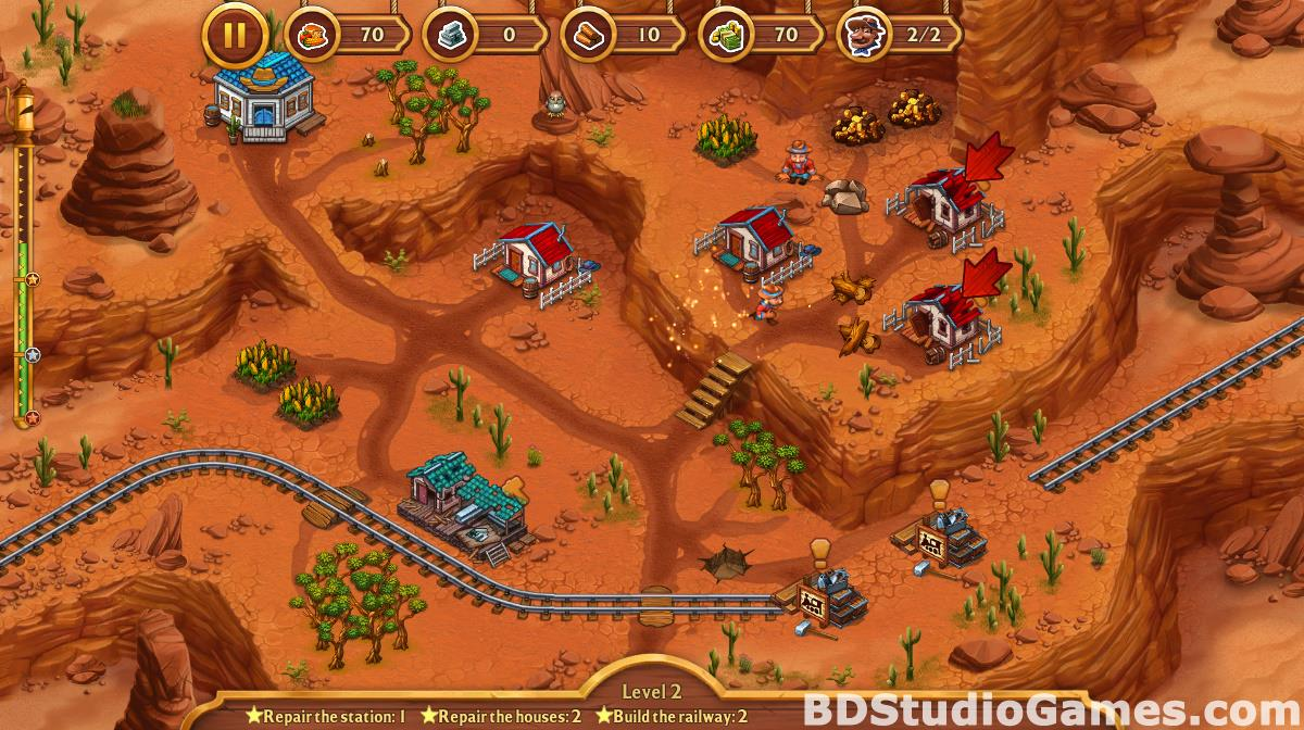 Golden Rails: Tales of the Wild West Free Download Screenshots 15