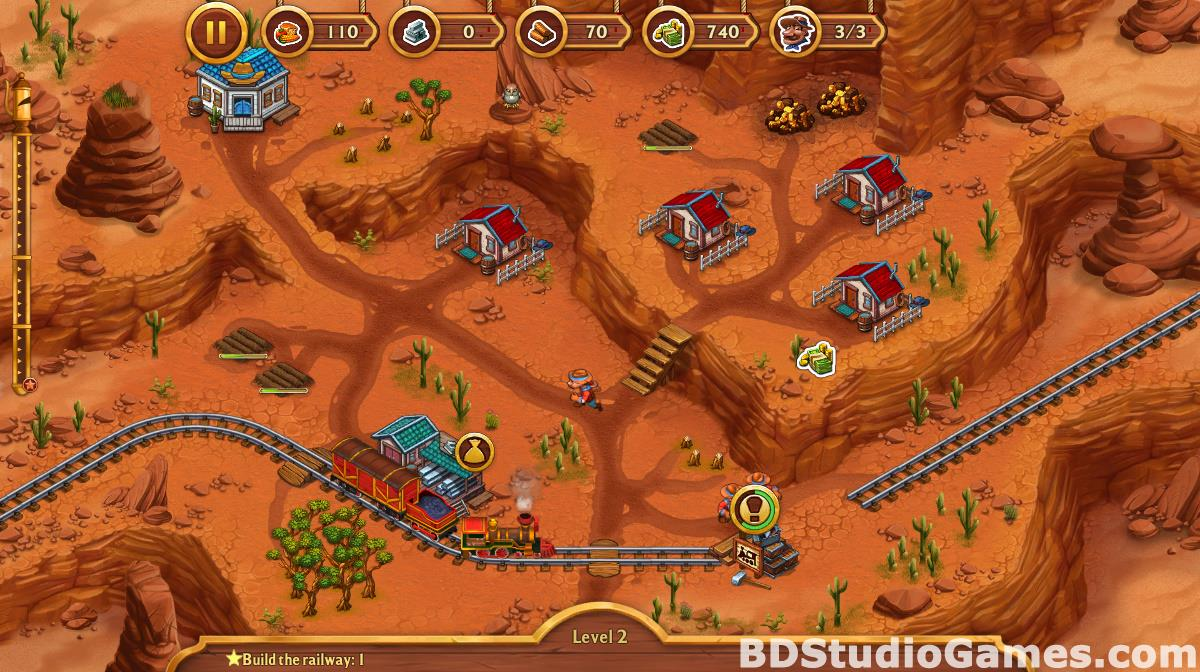 Golden Rails: Tales of the Wild West Free Download Screenshots 16