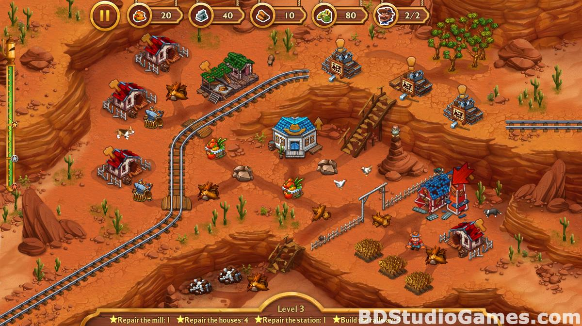 Golden Rails: Tales of the Wild West Free Download Screenshots 17
