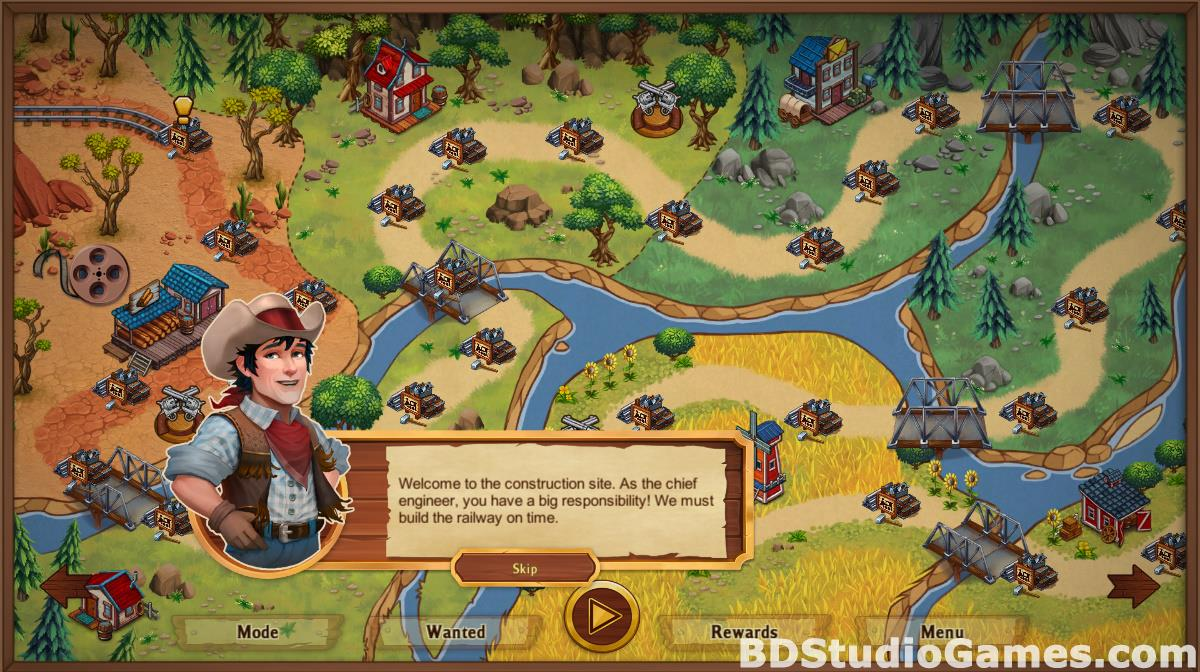 Golden Rails: Tales of the Wild West Free Download Screenshots 09