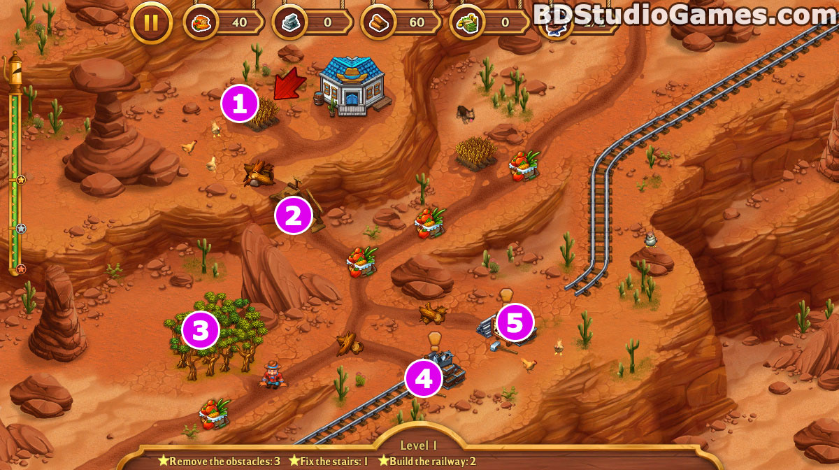 Golden Rails: Tales of the Wild West Walkthrough, Guides and Tips Screenshots 01