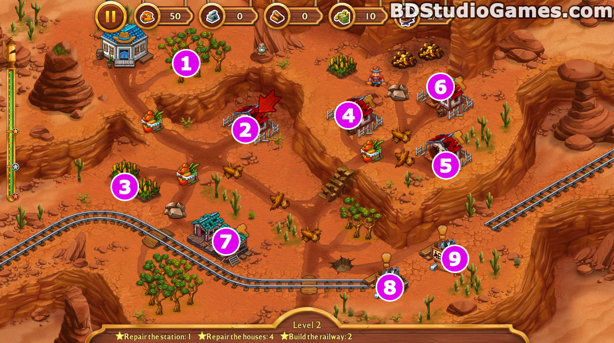Golden Rails: Tales of the Wild West Walkthrough, Guides and Tips Screenshots 02