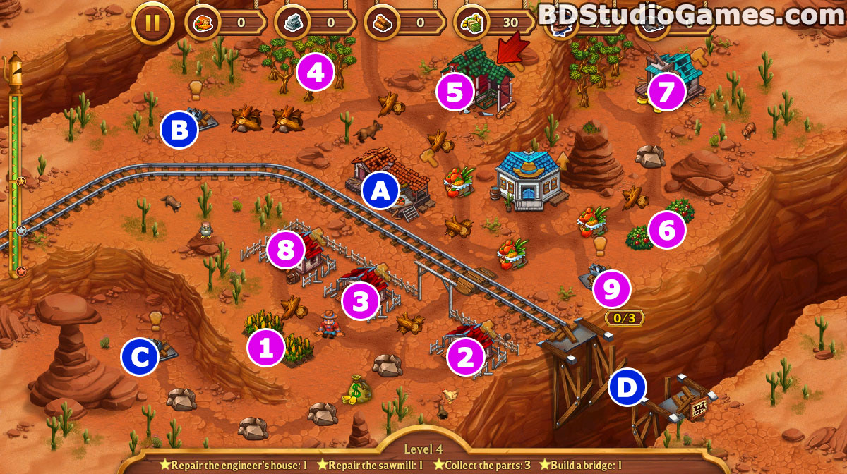 Golden Rails: Tales of the Wild West Walkthrough, Guides and Tips Screenshots 04