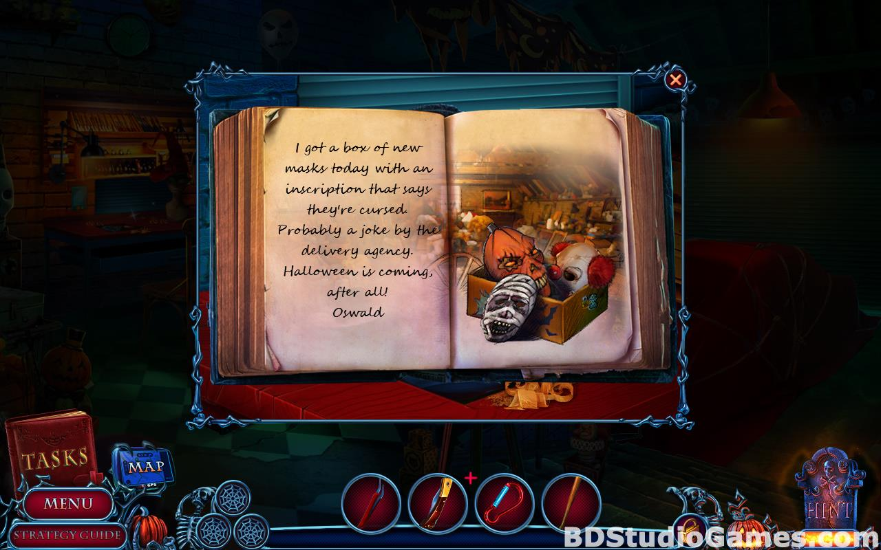 Halloween Chronicles: Cursed Masks Collector's Edition Free Download Screenshots 15