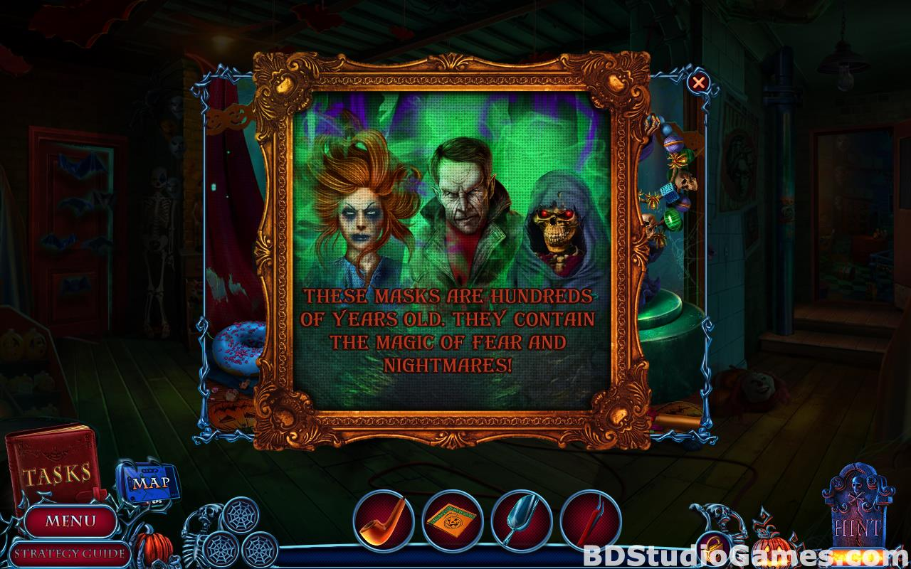 Halloween Chronicles: Cursed Masks Collector's Edition Free Download Screenshots 12