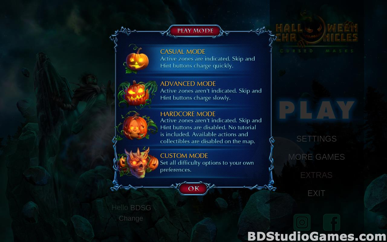 Halloween Chronicles: Cursed Masks Collector's Edition Free Download Screenshots 03