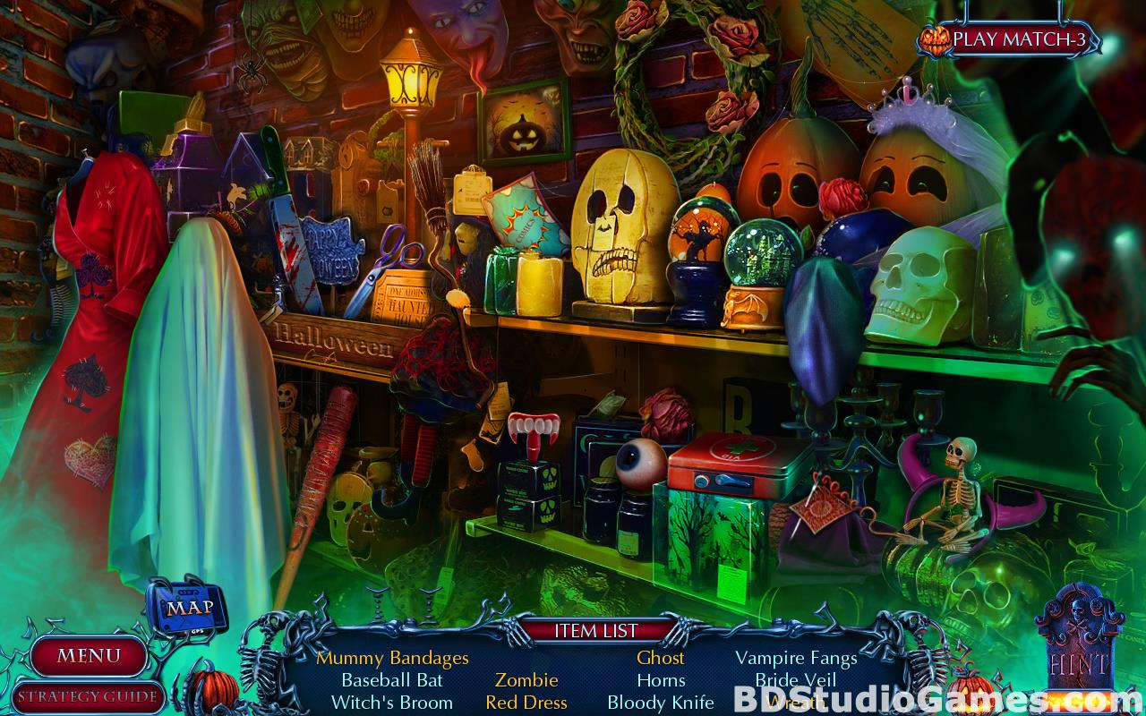 Halloween Chronicles: Cursed Masks Collector's Edition Free Download Screenshots 09