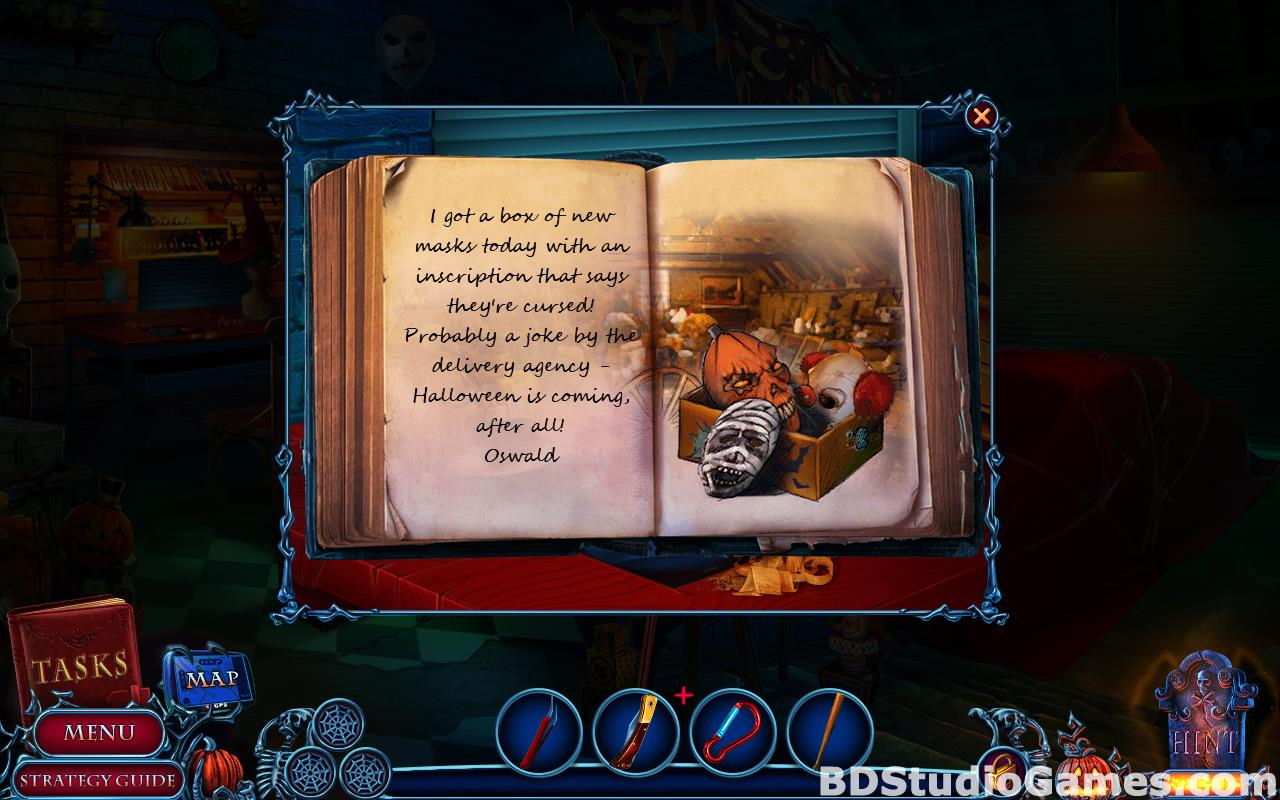 Halloween Chronicles: Evil Behind a Mask Collector's Edition Free Download Screenshots 17