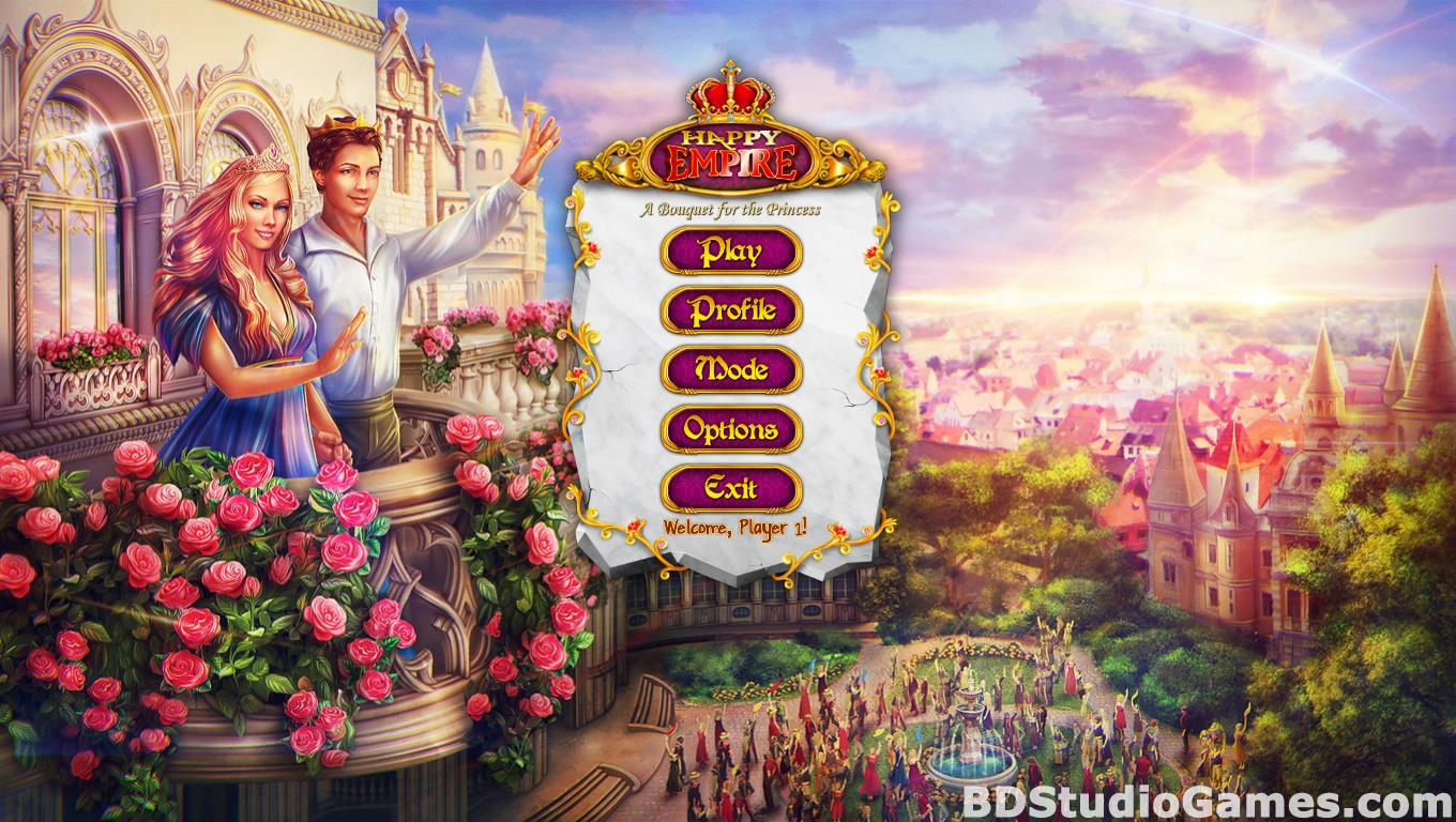 Happy Empire: A Bouquet for the Princess Free Download Screenshots 01