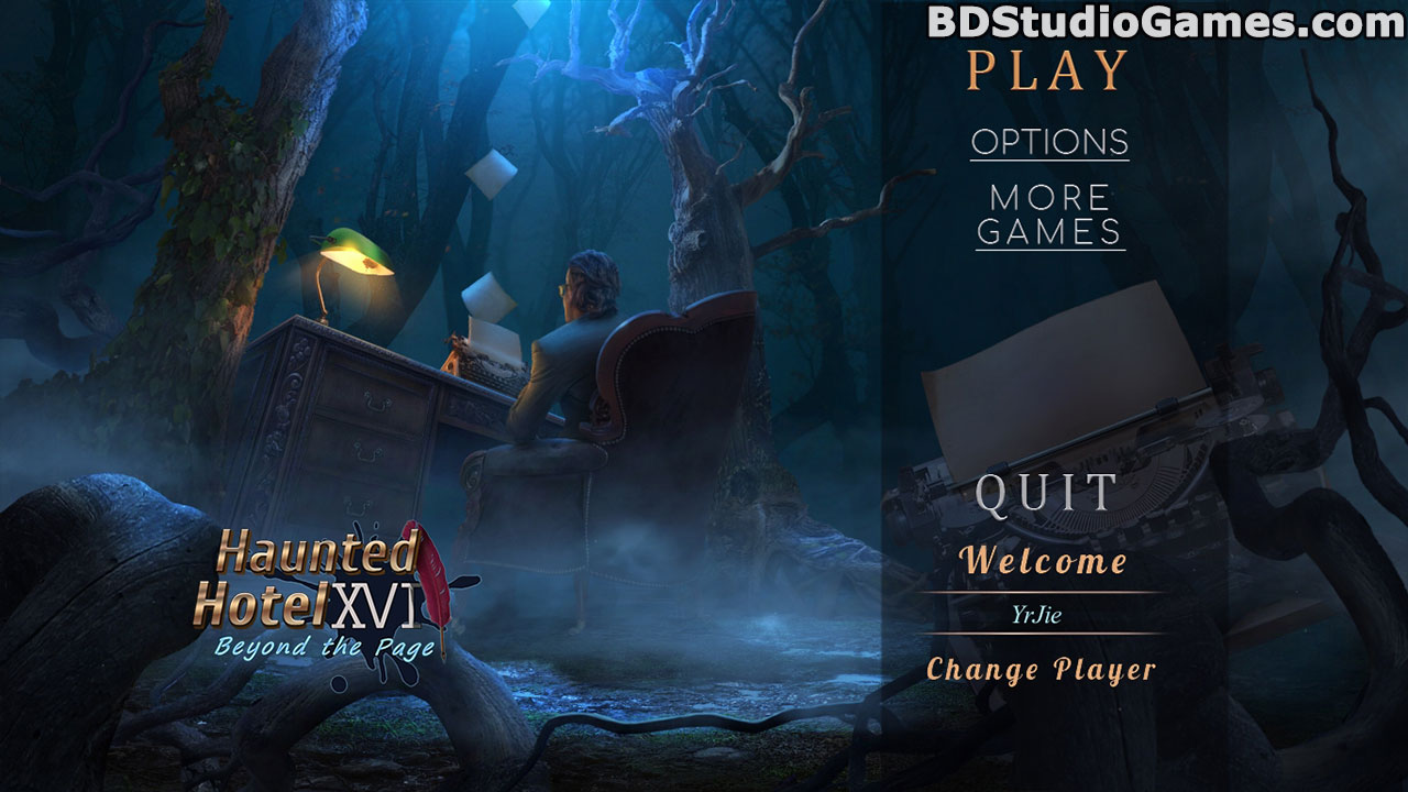 Haunted Hotel: Beyond the Page Collector's Edition Free Download Screenshots 1