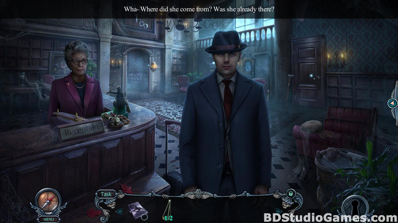 Haunted Hotel: Room 18 Collector's Edition Free Download Screenshots 10