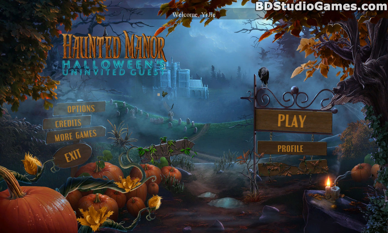 Haunted Manor: Halloween's Uninvited Guest Collector's Edition Free Download Screenshots 1