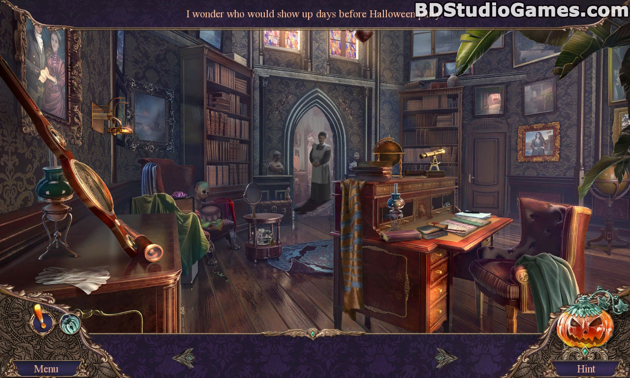 Haunted Manor: Halloween's Uninvited Guest Collector's Edition Free Download Screenshots 2