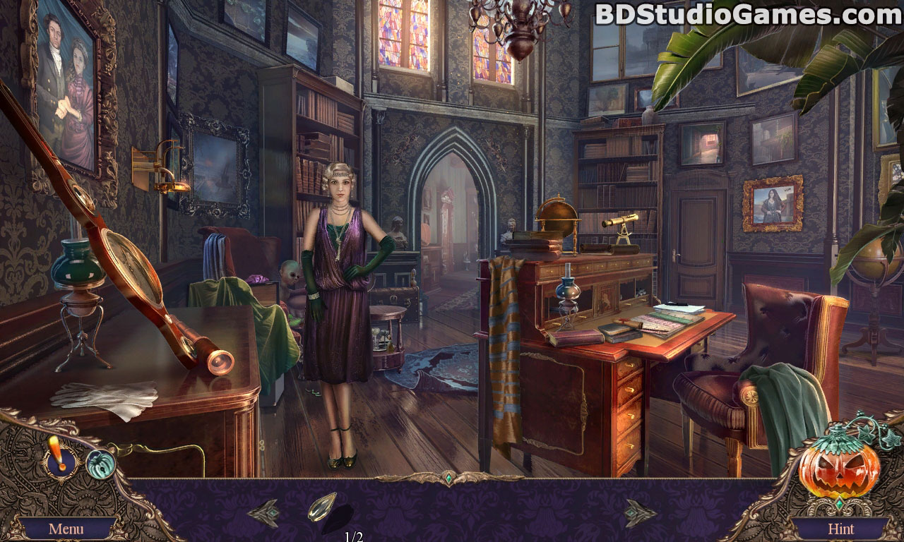 Haunted Manor: Halloween's Uninvited Guest Collector's Edition Free Download Screenshots 4