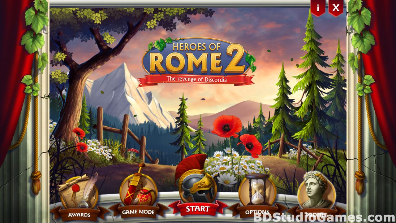 Heroes of Rome 2: The revenge of Discordia Free Download Screenshots 01