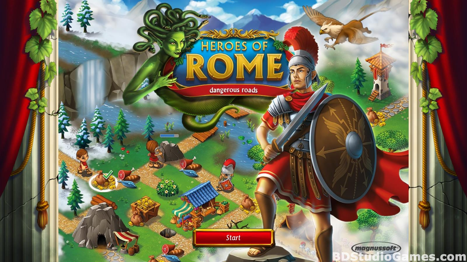 Heroes of Rome: Dangerous Roads Free Download Screenshots 01