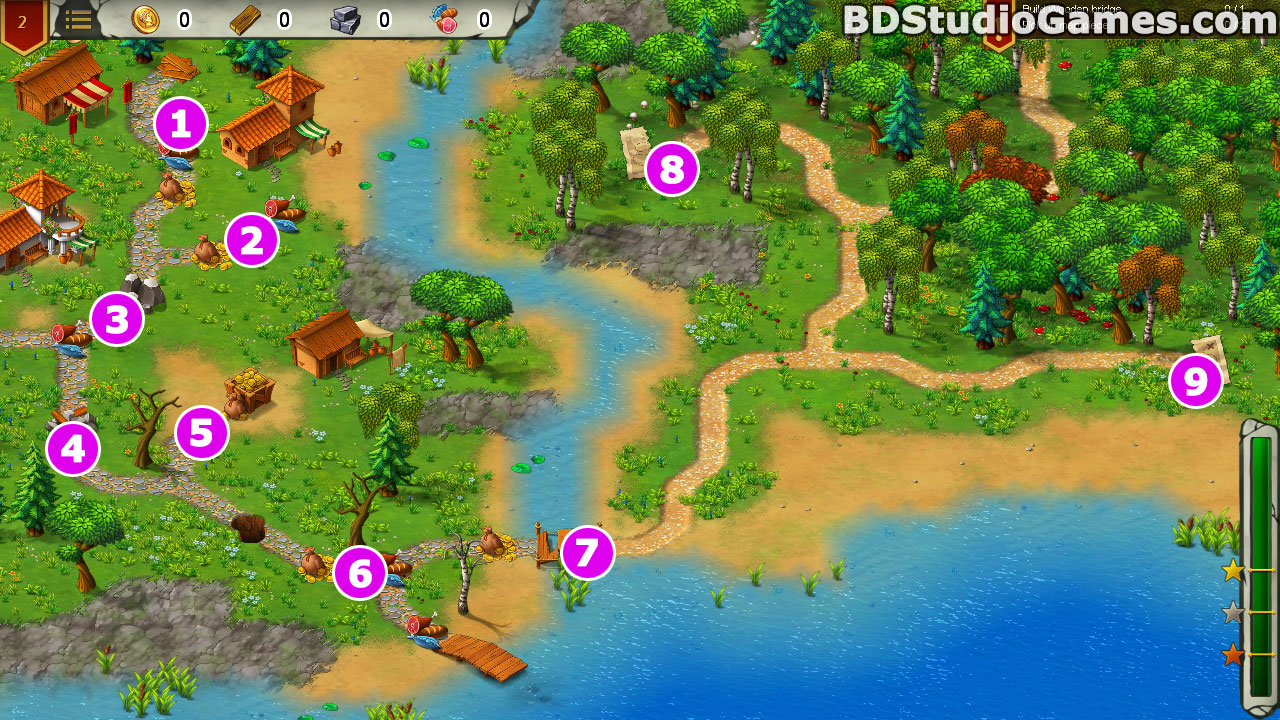 Heroes of Rome: Dangerous Roads Walkthrough, Guides and Tips Screenshots 02