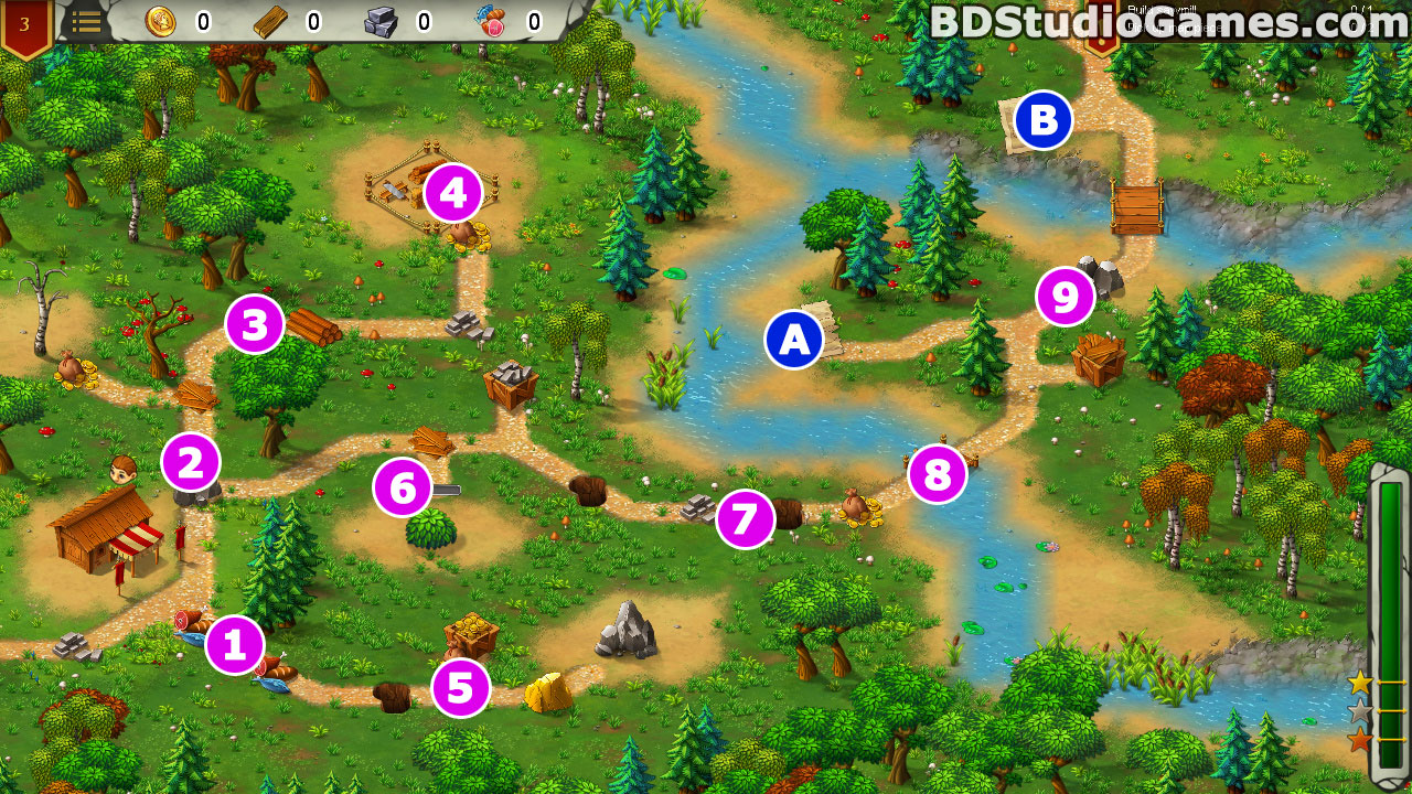 Heroes of Rome: Dangerous Roads Walkthrough, Guides and Tips Screenshots 03