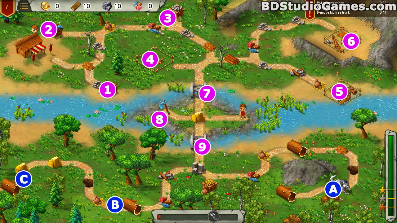 Heroes of Rome: Dangerous Roads Walkthrough, Guides and Tips Screenshots 07