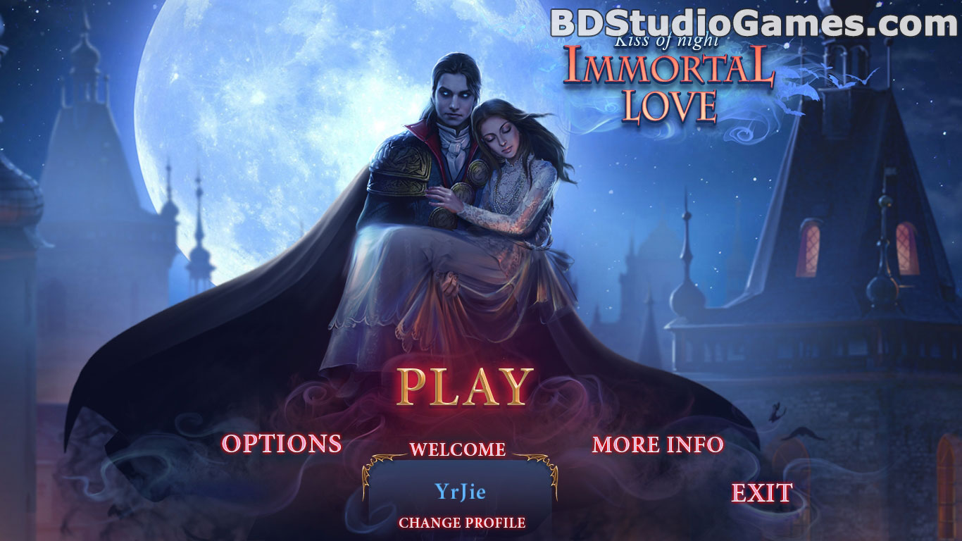 Immortal Love: Kiss Of Night Collector's Edition Free Download Screenshots 1