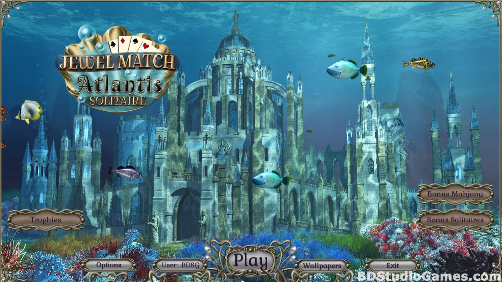Jewel Match Atlantis Solitaire Free Download Screenshots 01