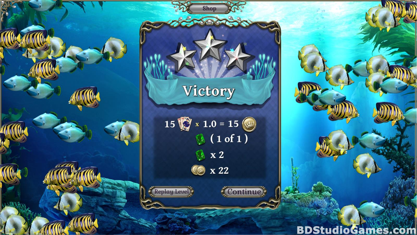 Jewel Match Atlantis Solitaire Free Download Screenshots 10
