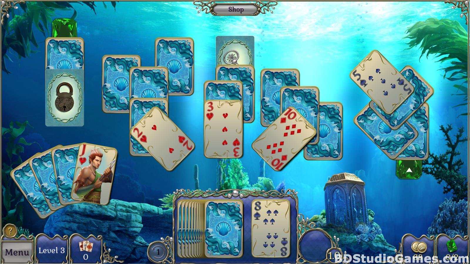 Jewel Match Atlantis Solitaire Free Download Screenshots 13
