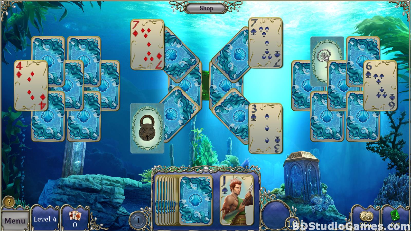 Jewel Match Atlantis Solitaire Free Download Screenshots 15