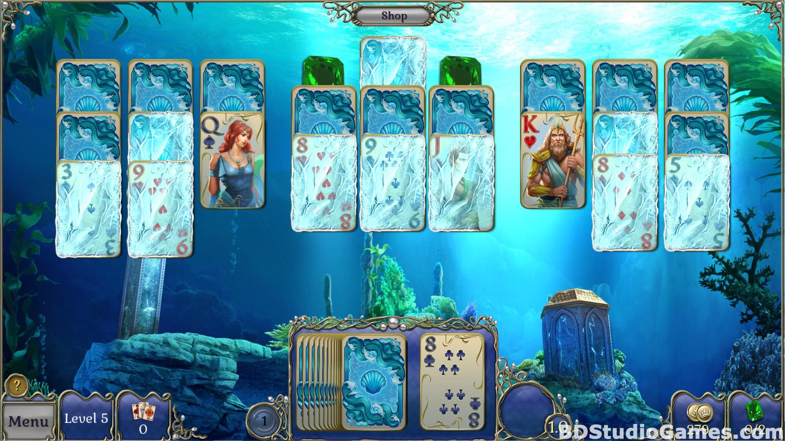 Jewel Match Atlantis Solitaire Free Download Screenshots 16