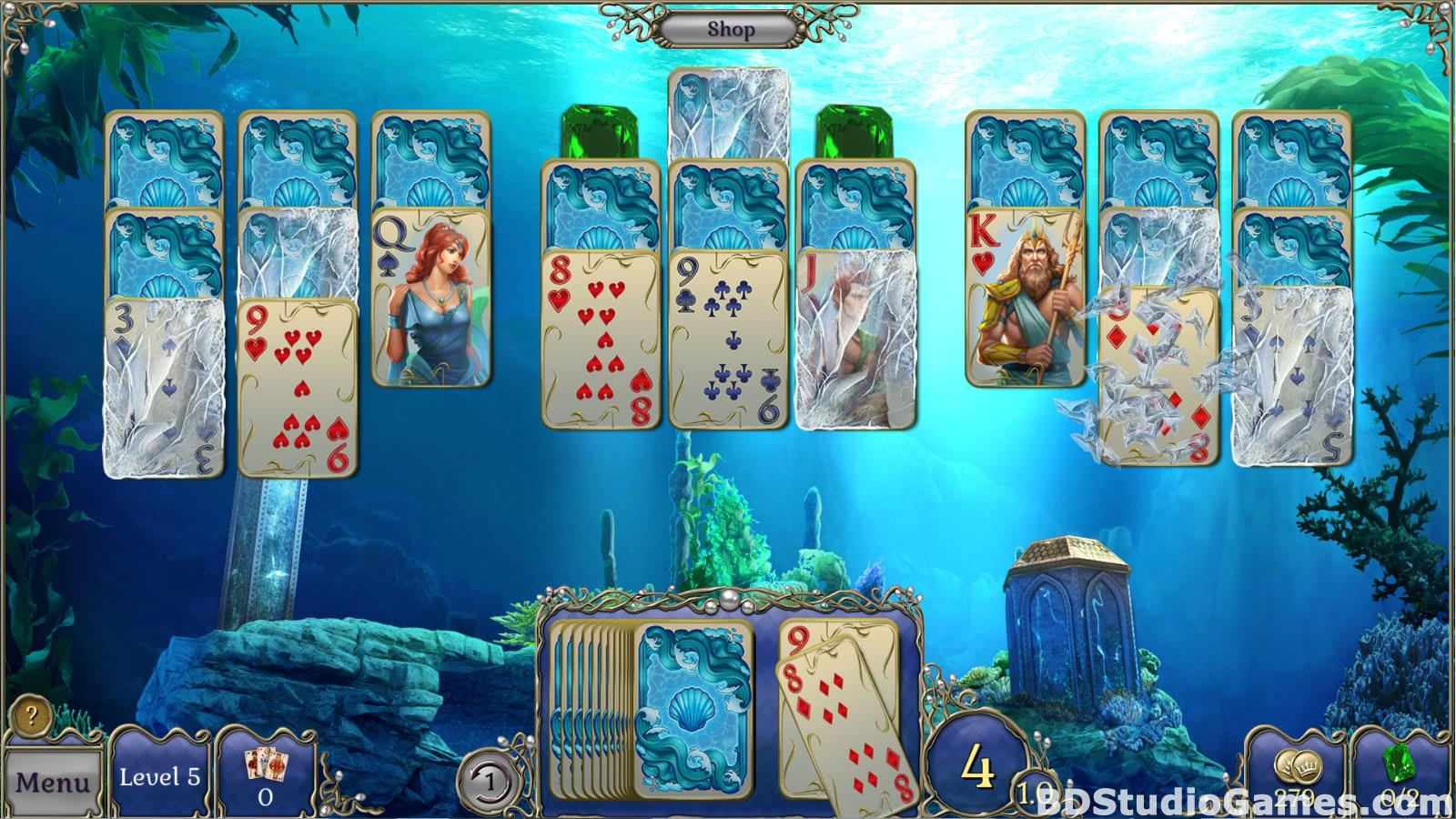 Jewel Match Atlantis Solitaire Free Download Screenshots 17